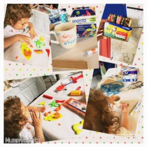 Blog MummyBenti Giotto Creative Blog Day 4