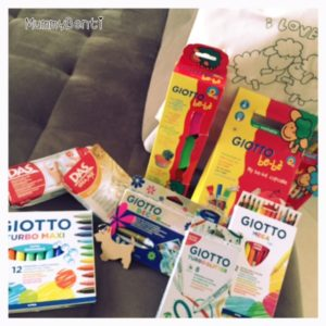 Blog MummyBenti Giotto Creative Blog Day 2