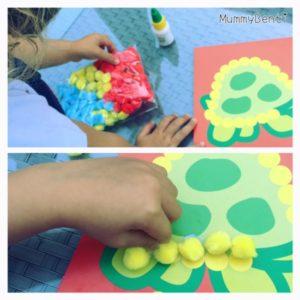 Blog MummyBenti SES Creative activités manuelles Précieuse 3