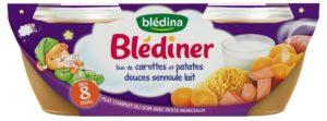blédiner blog mummybenti rituel précieuse duo de carottes patates douces semoule lait
