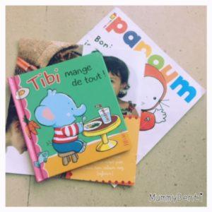 Tibi mange de tout Fleurus éditions lecture Précieuse blog MummyBenti