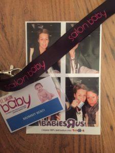 Salon baby octobre 2016 blog mummybenti babiesrus photomaton