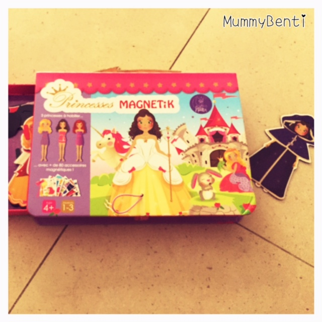 Princesses Magnetik Doux Moulin Blog MummyBenti