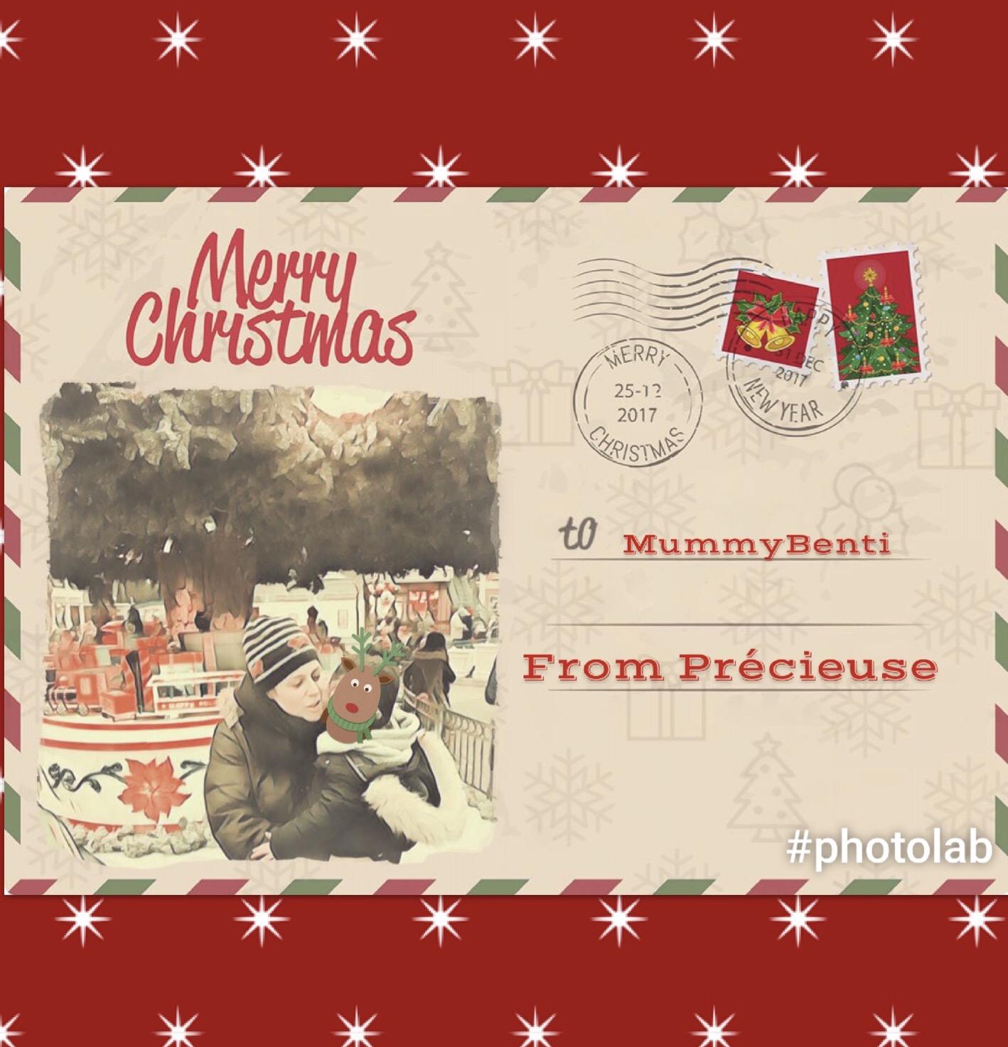 Blog MummyBenti Noël 2016 Précieuse Toi qui ressentait Noël
