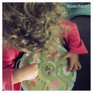 Blog MummyBenti Haba Labyrinthe magnétique animaux Précieuse test jeu Noël 2016 3