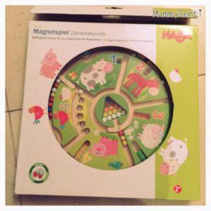 Blog MummyBenti Haba Labyrinthe magnétique animaux Précieuse test jeu Noël 2016 4