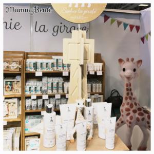 Salon Baby mars 2017 Blog MummyBenti Sophie la Girafe