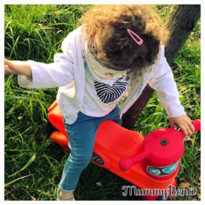 Blog MummyBenti Wesco moto Magic Précieuse draisienne moto jeu d'enfant 1