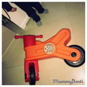 Blog MummyBenti Wesco moto Magic Précieuse draisienne moto jeu d'enfant 2