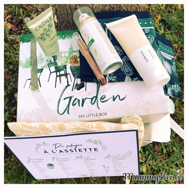 Blog MummyBenti My little Box My Little Garden Box Avril 2017