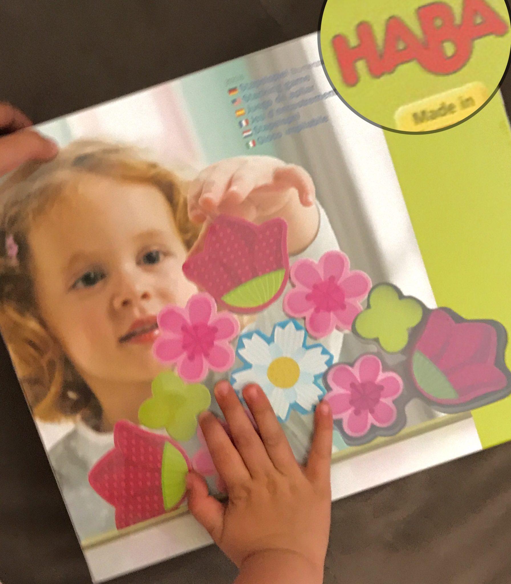 Haba jeu d'encastrement fleurs magiques blog MummyBenti 1
