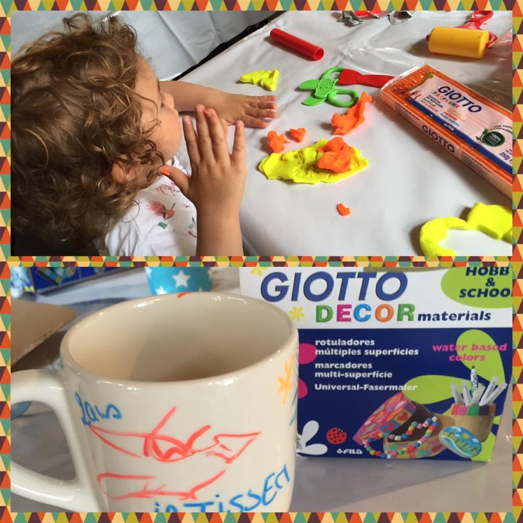 Blog MummyBenti Giotto Creative Blog Day 1